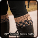 DIY Crochet Boots Cuffs by Julia Corwin