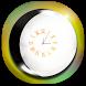 Moon Clock Widget by Golden Diamonds