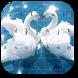 Swan Love Theme by M Typewriter Theme Studio