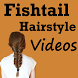 Fishtail Braided Hairstyle Steps Videos App by Ziyan Hussain 1992