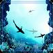 Sharks Underwater Ocean LWP by godsproslw