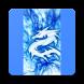 Blue Dragon Wallpaper by Purple Planet
