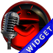Poweramp Widget Red Droid 5 by Maystarwerk Skins & Widgets Vol.2