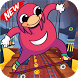 Ugandan Knuckles : Subway Skater by hawhawno