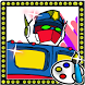 Coloring for Toy Optimus Prime by Kids Coloring Game for girls and boys dora doodle