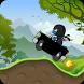 Ninja Hill Climb Racing by racing runner free for kids