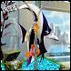 Aquarium Fish Zip Lock Screen by J Dee Studio