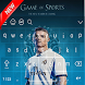 Keyboard - Cristiano Ronaldo RMA & Football.