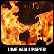 Burning Live Wallpaper by Wave Keyboard Design Studio