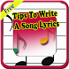 Tips To Write A Song Lyrics by Phyt4