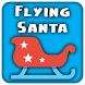 Flying Santa Sleigh by udnapps
