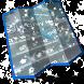 Grey Racings Keyboard Design by Cool emojis themes