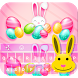 Easter Bunny Keyboard by Free Fun Apps 2016
