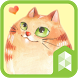 Lovely cute cat Launcher theme by SK techx for themes