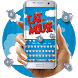 Cat & Mouse Cartoon Keyboard Theme