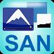 Santorini topoGuide by AnaDigit