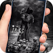 Hell Crow grim Reaper Lock screen desktop by Cool Theme Creator