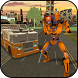 Virtual Robot Firefighter City Rescue