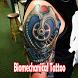 Biomechanical Tattoo Design