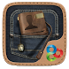 Jeans GO Launcher Theme by Freedom Design