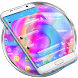 SMS Messages Glass Spiral by Themes Messages Contacts Dialer by Double L