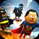 Jump Bob - Super Heroes by alexangame