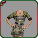 Army Photo Suit for Women by Nitu Apps