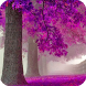 Purple Trees Live Wallpaper by Empire Wallpapers