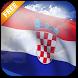 3D Croatia Flag Live Wallpaper by App4Joy