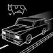 Racing Pixel Car by Art Dynasty