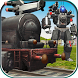 Euro Train Robot Transform by Raydiex - 3D Games Master