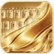 Luxury Gold Keyboard Theme by Fly Liability Themes