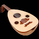 Oud oriental musical instrumen by masih vahida