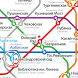 Moscow Metro Map by Richard Turner