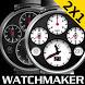 WATCH FACE SPEED MASTER BLACK by Tak Team Studio