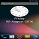 Analog Clock With Date Widget by kh ashique mahamud