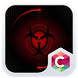 Sharingan Theme Red Abstract by C Launcher Themes