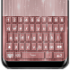 Rose Gold Keyboard Theme by Free Radio Stations