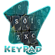 Sinuous Keypad Cover by Alpha Themes