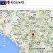 Pristina map by Golden Mapas