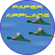 PAPER AIRPLANE by BIGTEXAPPS
