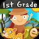 Animal Math First Grade Math Games for Kids Math by Eggroll Games