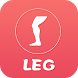 Free Leg Workout-Strengthen and tighten lower body