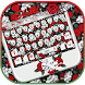 Skull Rose Keyboard theme by Locker Themes Center