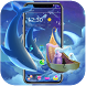 Starry Blue Launcher Theme by Cool Theme Love