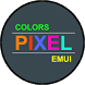 Colors Pixel Theme for Huawei by ASNA Taj