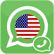 US Number For Whatsap by amoon.inc