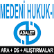 AÖF MEDENİ HUKUK-I by AÖF KURSLARI