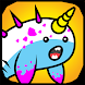 Narwhal Evolution -Sea Clicker by Holy Cow Studio