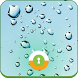 Raindrops Wall & Lock by Mobaba Labs